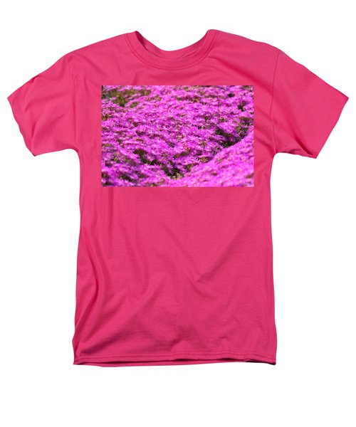 Men's T-Shirt  (Regular Fit) featuring the photograph Purple Hills by Amy Gallagher