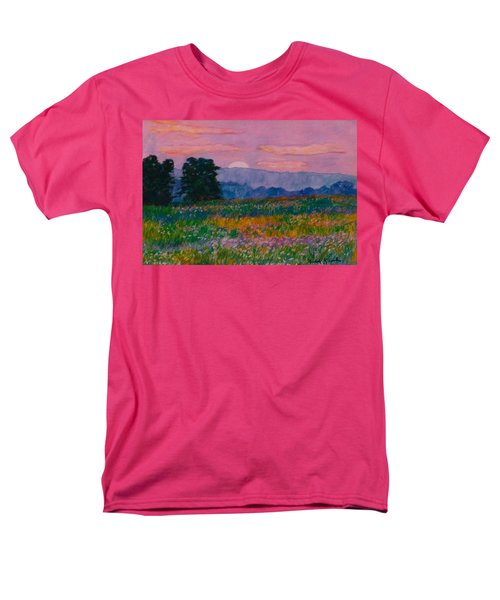 Purple Sunset On The Blue Ridge Men's T-Shirt  (Regular Fit) by Kendall Kessler