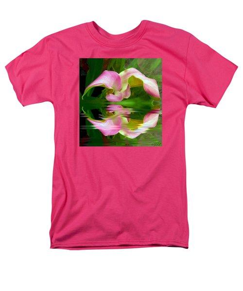 Reflecting Lily Men's T-Shirt  (Regular Fit) by Michele Avanti
