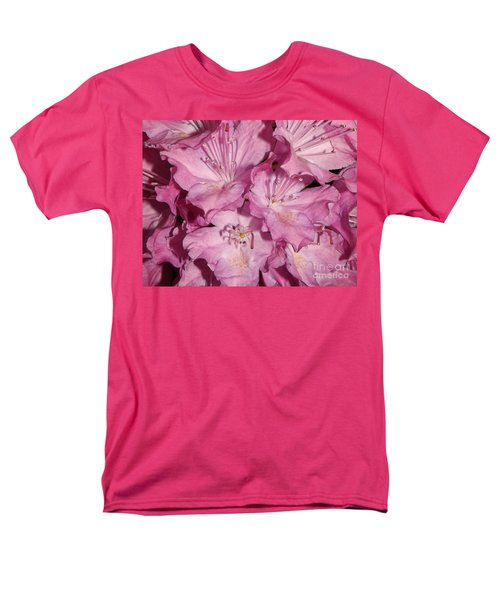 Rhododendron Bliss Men's T-Shirt  (Regular Fit) by Sara  Raber