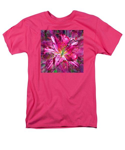 Star Gazing Stargazer Lily Men's T-Shirt  (Regular Fit) by Michele Avanti