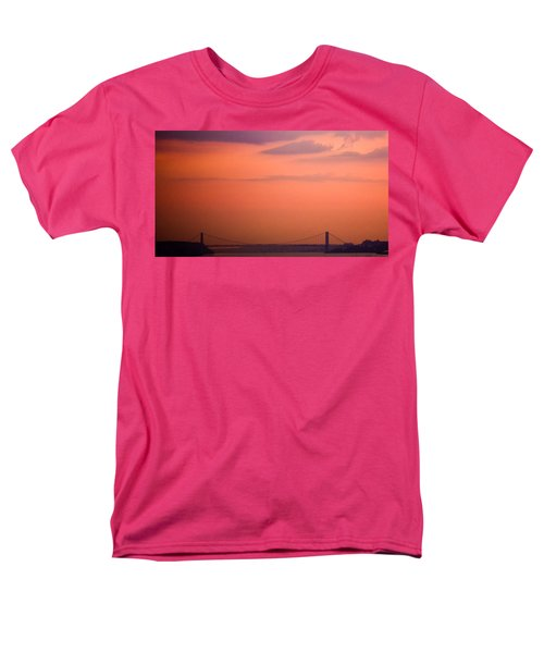Men's T-Shirt  (Regular Fit) featuring the photograph Sunrise In New York by Sara Frank