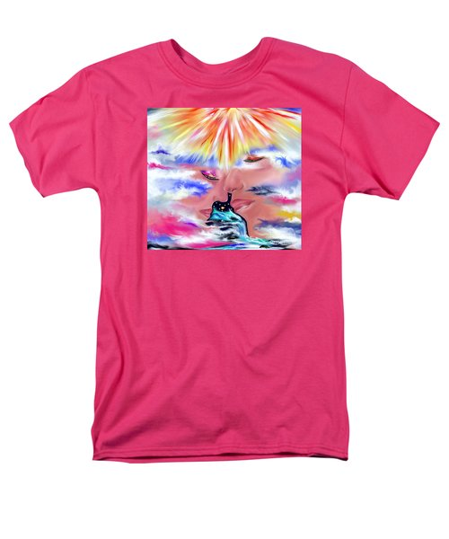 Eternal Love Men's T-Shirt  (Regular Fit) by Lori  Lovetere