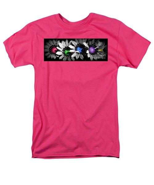 Colored Blind Men's T-Shirt  (Regular Fit)