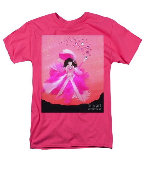 Men's T-Shirt  (Regular Fit) featuring the painting Awareness by Alys Caviness-Gober
