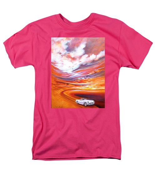 Corvette Heaven Men's T-Shirt  (Regular Fit) by Jan VonBokel