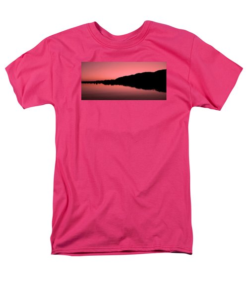 Men's T-Shirt  (Regular Fit) featuring the photograph The End Of The Day ... by Juergen Weiss