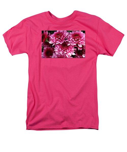 Fall Flowers Men's T-Shirt  (Regular Fit) by Mikki Cucuzzo