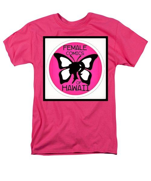 Female Comics Of Hawaii Men's T-Shirt  (Regular Fit) by Erika Swartzkopf