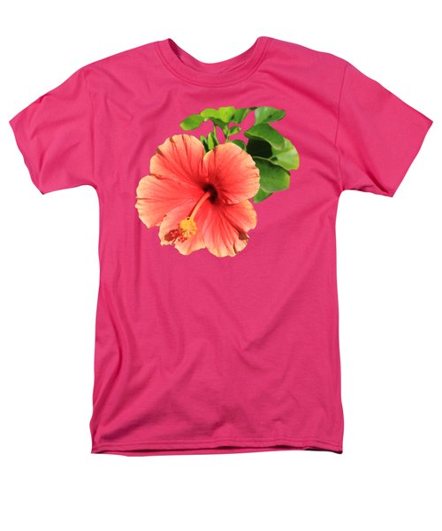 Men's T-Shirt  (Regular Fit) featuring the photograph Hibiscus by Shane Bechler