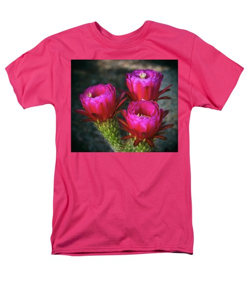 Men's T-Shirt  (Regular Fit) featuring the photograph Hot Pink  by Saija Lehtonen