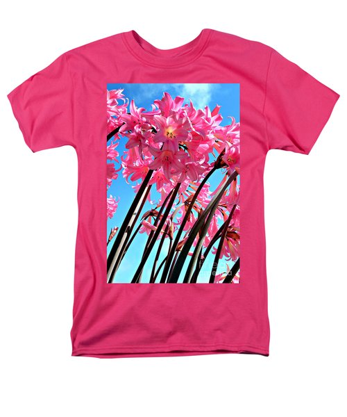 Men's T-Shirt  (Regular Fit) featuring the photograph Naked Ladies by Vivian Krug Cotton