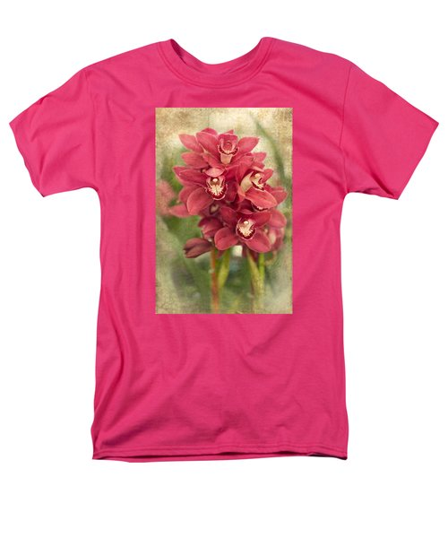 Orchid Men's T-Shirt  (Regular Fit) by Catherine Lau