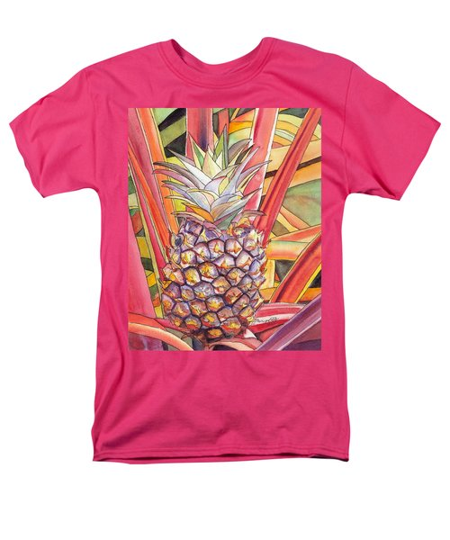 Pineapple Men's T-Shirt  (Regular Fit)