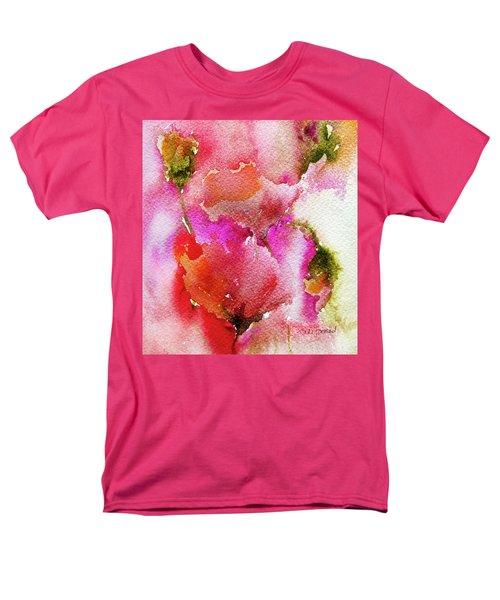 Poppy Garden Men's T-Shirt  (Regular Fit) by Linde Townsend