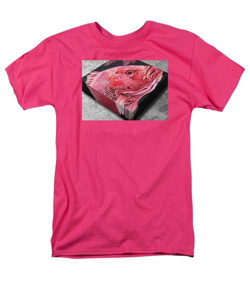 Red Snapper Men's T-Shirt  (Regular Fit) by William Love