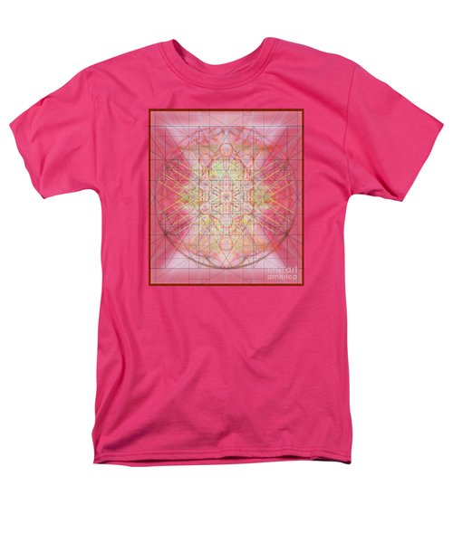 Men's T-Shirt  (Regular Fit) featuring the digital art Sacred Symbols Out Of The Void 1b by Christopher Pringer