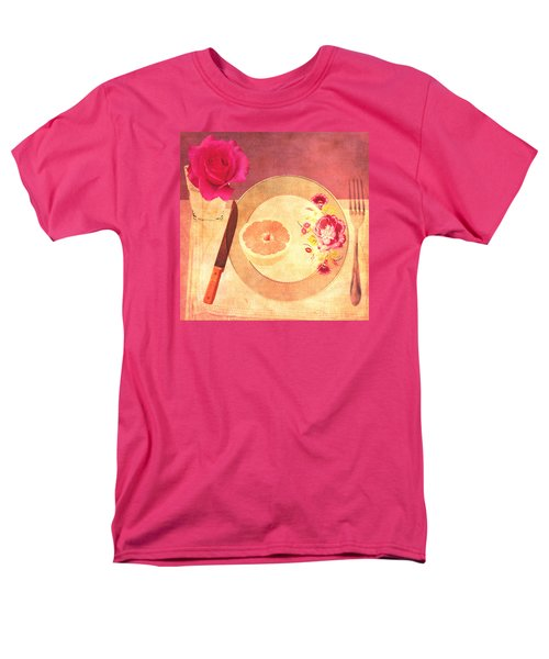 Men's T-Shirt  (Regular Fit) featuring the digital art Tablescape by Lisa Noneman