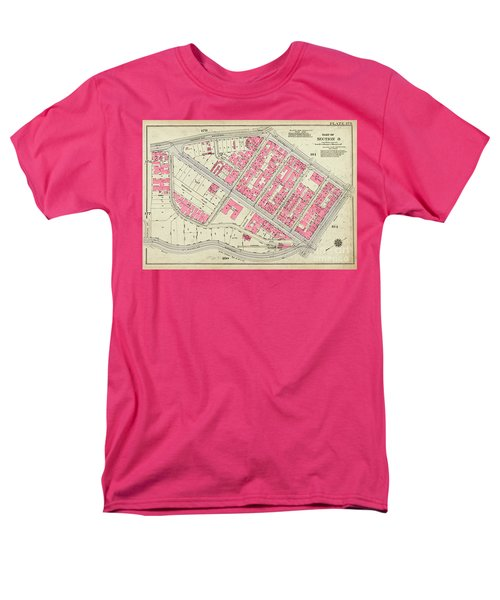 1930 Inwood Map  Men's T-Shirt  (Regular Fit) by Cole Thompson