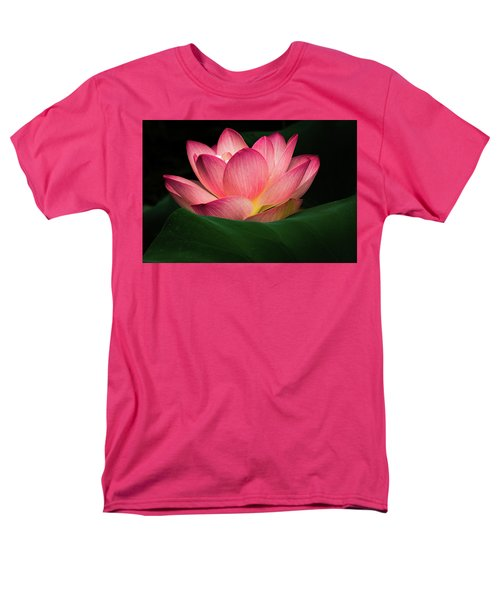 Men's T-Shirt  (Regular Fit) featuring the photograph Water Lily by Jay Stockhaus