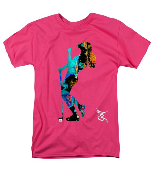 Womens Golf Collection Men's T-Shirt  (Regular Fit) by Marvin Blaine