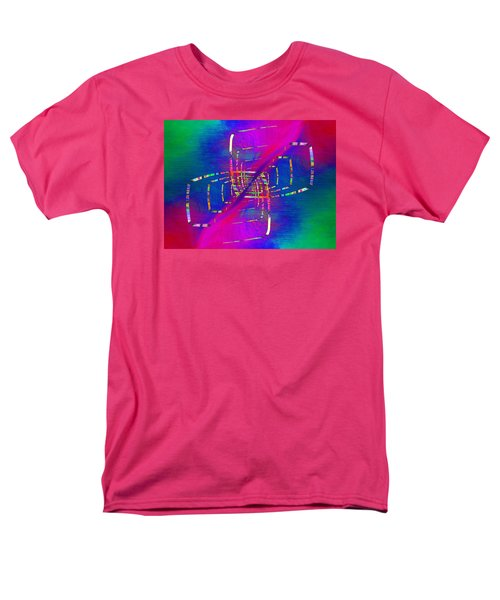 Men's T-Shirt  (Regular Fit) featuring the digital art Abstract Cubed 363 by Tim Allen
