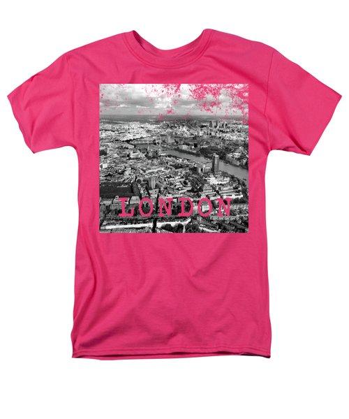 Aerial View Of London Men's T-Shirt  (Regular Fit)