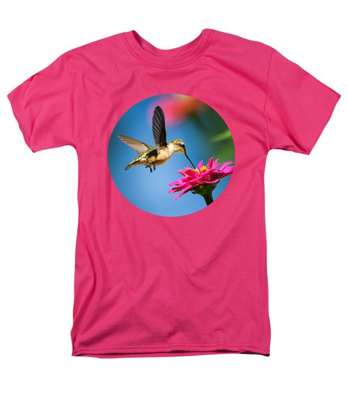 Art Of Hummingbird Flight Men's T-Shirt  (Regular Fit) by Christina Rollo