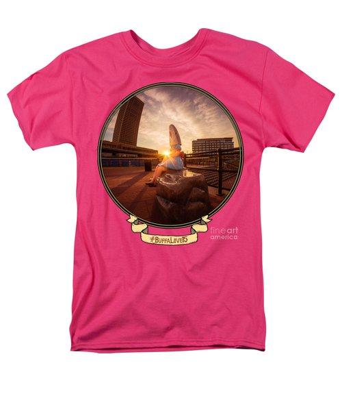Shark Girl Dawn - Horizontal Men's T-Shirt  (Regular Fit)