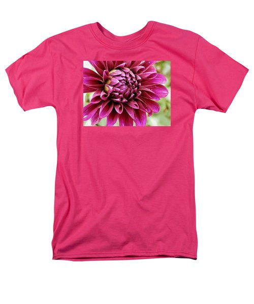Awesome Dahlia Men's T-Shirt  (Regular Fit) by VLee Watson