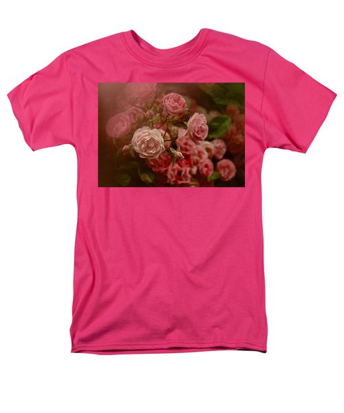 Beautiful Roses 2016 No. 2 Men's T-Shirt  (Regular Fit) by Richard Cummings