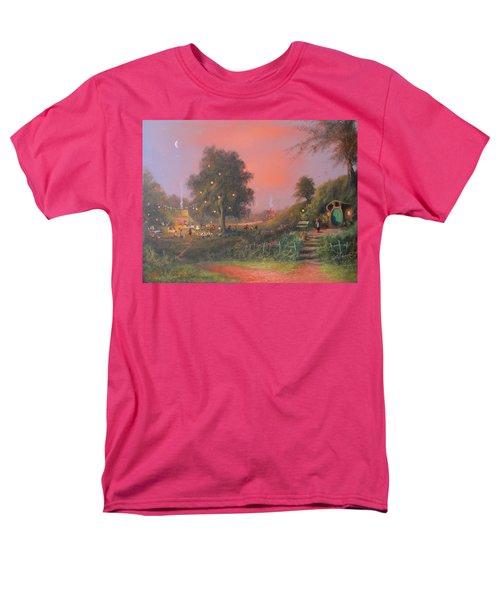 Bilbo's Eleventy-first Birthday Party Men's T-Shirt  (Regular Fit) by Joe  Gilronan