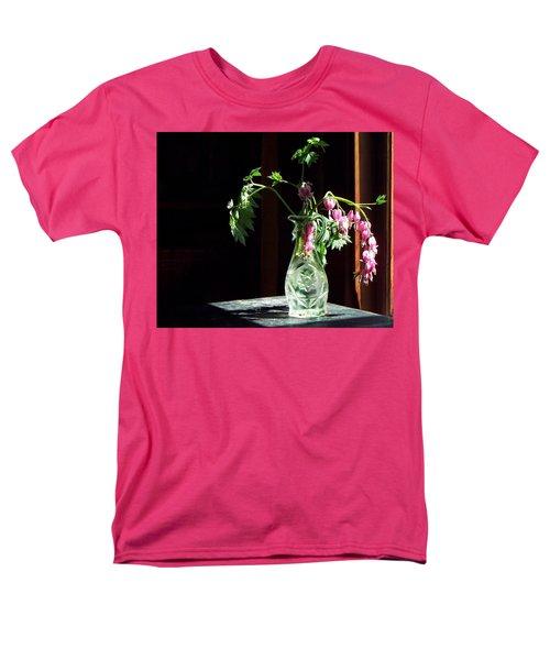 Men's T-Shirt  (Regular Fit) featuring the photograph Bleeding Heart Bouquet by Joy Nichols