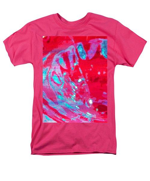 Blue Splash Men's T-Shirt  (Regular Fit) by Samantha Thome