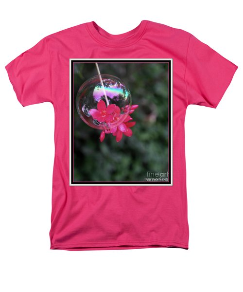 Bursting Free Men's T-Shirt  (Regular Fit) by Irma BACKELANT GALLERIES