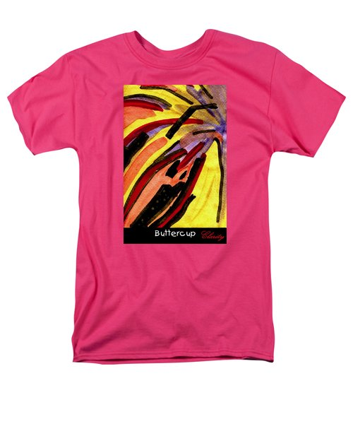 Men's T-Shirt  (Regular Fit) featuring the painting Buttercup by Clarity Artists
