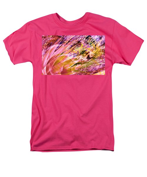 Celebration In Pink Men's T-Shirt  (Regular Fit) by Stephanie Grant