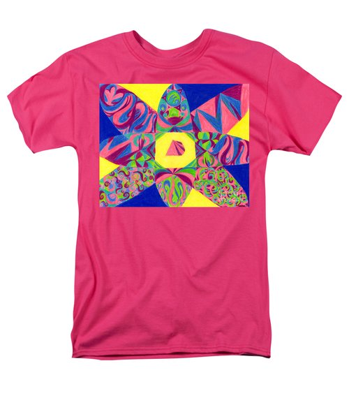 Men's T-Shirt  (Regular Fit) featuring the drawing Centrifugal by Kim Sy Ok