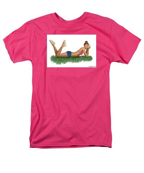 Men's T-Shirt  (Regular Fit) featuring the digital art Chloe by Nancy Levan