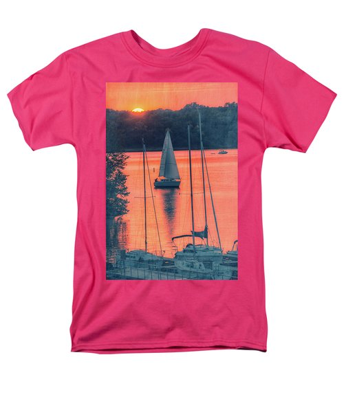 Come Sail Away Men's T-Shirt  (Regular Fit) by Pamela Williams