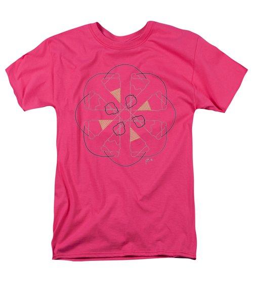 Cones - Dark T-shirt Men's T-Shirt  (Regular Fit) by Lori Kingston