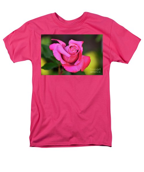 Men's T-Shirt  (Regular Fit) featuring the photograph Curled Beauty by Debby Pueschel