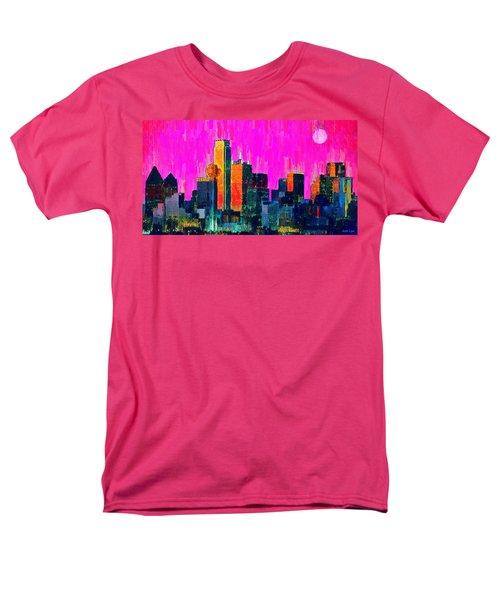 Dallas Skyline 70 - Da Men's T-Shirt  (Regular Fit)