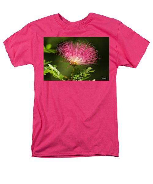 Delicate Pink Bloom Men's T-Shirt  (Regular Fit) by Gary Crockett