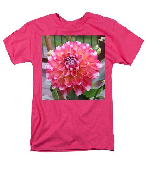 Denali Dahlia Men's T-Shirt  (Regular Fit) by Karen J Shine