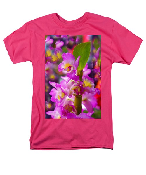 Men's T-Shirt  (Regular Fit) featuring the photograph Dream Of Spring by Byron Varvarigos