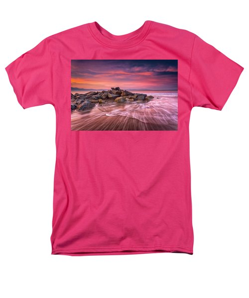 Men's T-Shirt  (Regular Fit) featuring the photograph Earth, Water And Sky by Edward Kreis