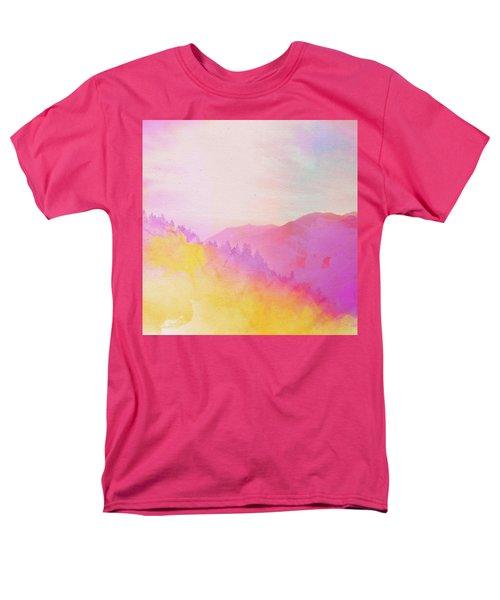 Men's T-Shirt  (Regular Fit) featuring the digital art Enchanted Scenery #2 by Klara Acel