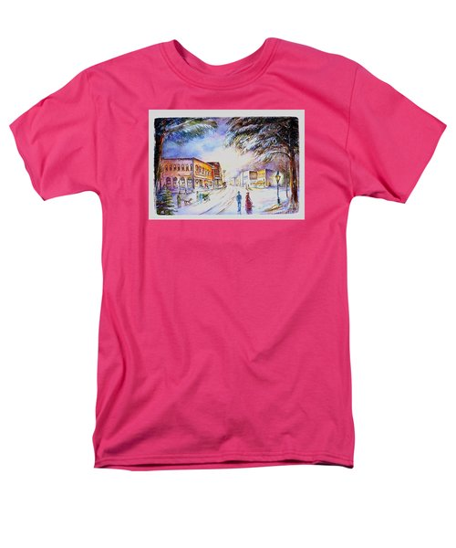 Evening In Dunnville Men's T-Shirt  (Regular Fit) by Patricia Schneider Mitchell