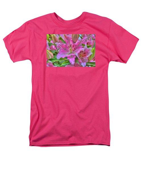 Flower Delight Men's T-Shirt  (Regular Fit) by Nadia Sanowar